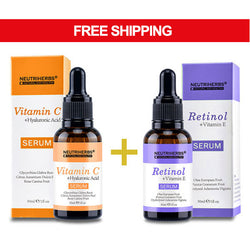 Neutriherbs Vitamin C and Retinol Serum For Anti-Aging for sensitive skin
