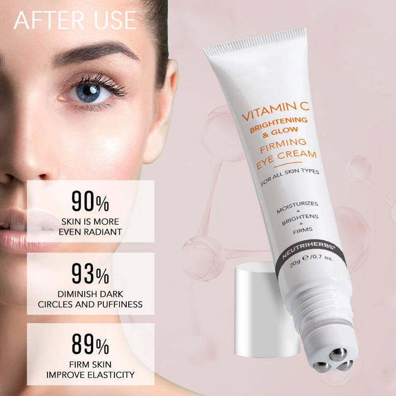 Neutriherbs Vitamin C Brightening & Glow Firming eye repair cream