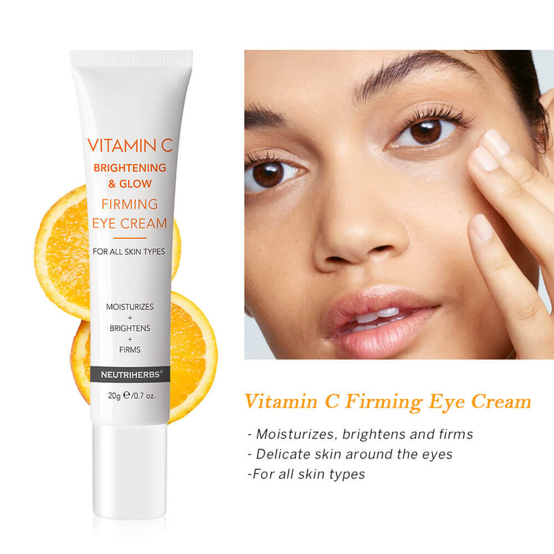 Neutriherbs Vitamin C Brightening & Glow Firming under eye cream