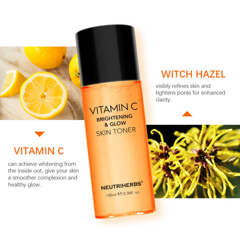 NEUTRIHERBS Vitamin C & witch hazel best toner for acne-prone skin