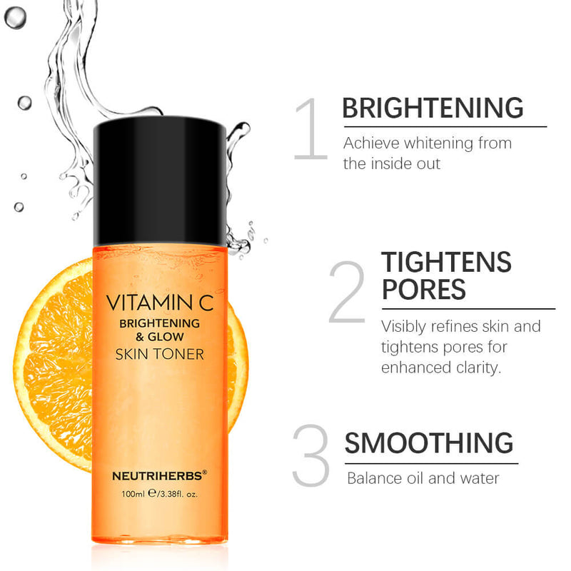 NEUTRIHERBS Vitamin C brightening & toner best toner for dry skin