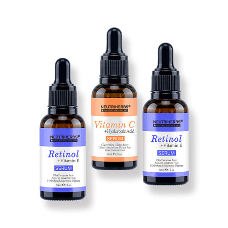 Neutriherbs | Retinol Serum+Vitamin C Serum | 20% Off