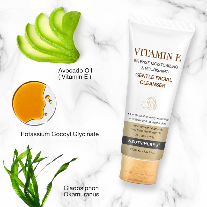 Vitamin E Facial Cleanser