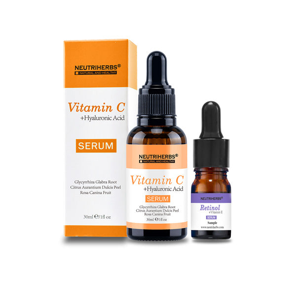 Neutriherbs® Vitamin C Serum | Get Retinol Serum For Free