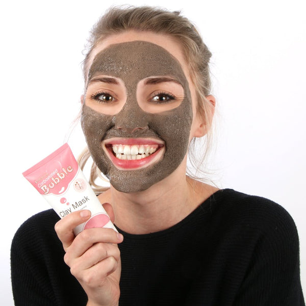neutriherbs carbonated bubble face mask-bubble clay face mask-oxygen bubble mask-face mask that bubbles up