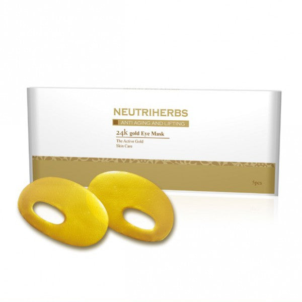 neutriherbs wholesale gold eye mask-best under eye mask-eye mask for dark circles-eye bag mask
