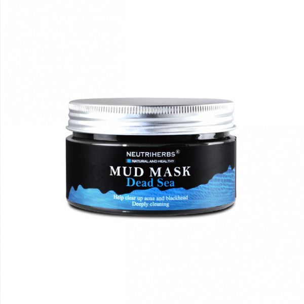neutriherbs dead sea mud mask-dead sea mask-dead sea face mask-mud face mask-deep sea mud mask-black mud mask
