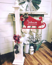 Command Center Calendar / Mantle / 5 ft Post / Mr&Mrs Sign / Long Plank with Heart Wreath