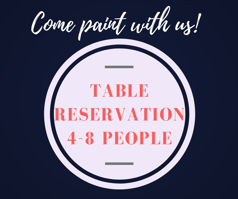 02/17/2019 (4 pm)  Table Reservation Deposit