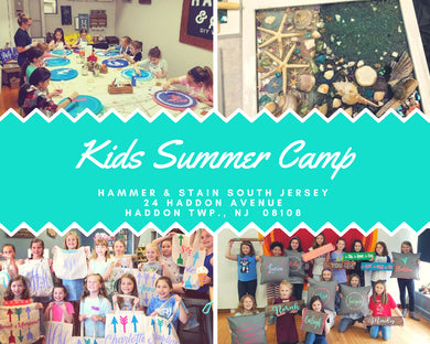 08/20 - 08/24/18  -   (9am-12 pm)  SUMMER ART CAMP