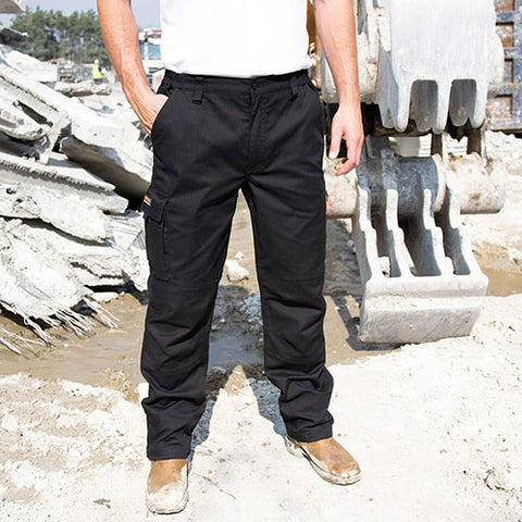 Site Work Wear Trousers for Men by Result Work Guard