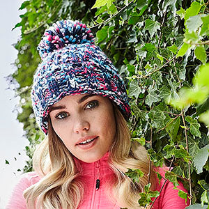 Winter Beanie Hat worn by woman