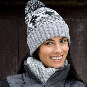 Womens Winter Bobble Hat