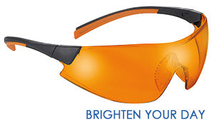 brighten your day orange safety specs