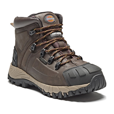 Dickies Brown Medway PPE Safety Workwear Boots