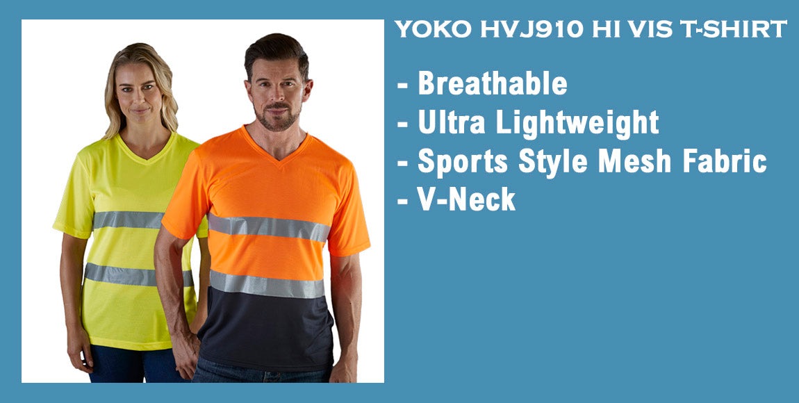 hi vis t-shirt model images