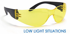 low light situations yellow safety spec