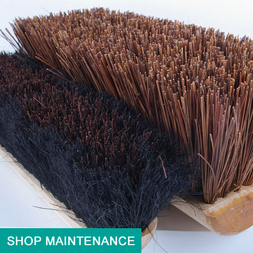 maintenance and sweeping brushes