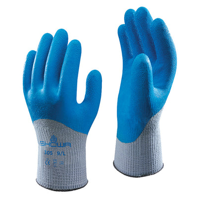 Showa 305 Grip Xtra Latex Coated Safety Gloves