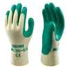 Showa 310 Gloves Green Latex Grip