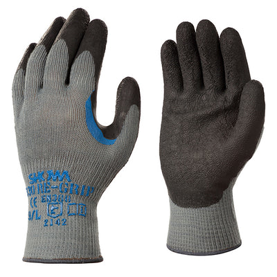 Showa 330 Gloves with Re-Grip Latex Palm