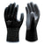 Showa 370 Black Assembly Nitrile Safety Grip Gloves