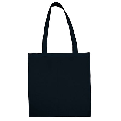 Bags by Jassz 'Beech' Cotton Long Handle Bag Dark Blue