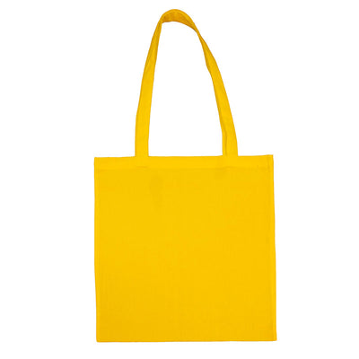 Bags by Jassz 'Beech' Cotton Long Handle Bag Yellow