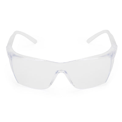 Clear Safety Glasses - Univet 503 Front