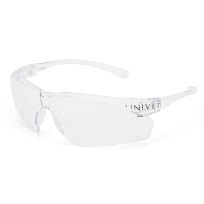 Univet 505 Clear Safety Glasses