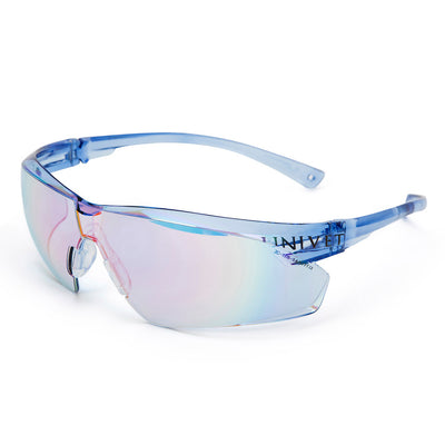 Univet 505 Blue Lens Safety Glasses