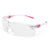 Univet 506 Ladies Safety Glasses Pink Frame