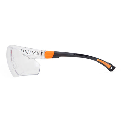 Univet 506 Ladies Safety Glasses with Clear Lens Side