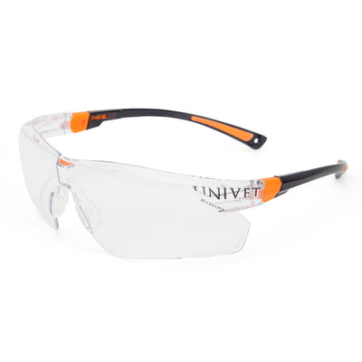 Univet 506 Ladies Safety Glasses with Clear Lens