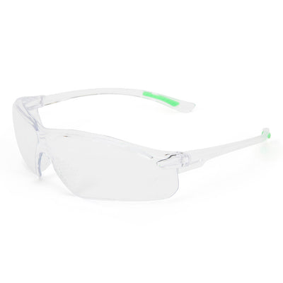 Univet 516 Anti Scratch Lightweight Safety Specs Clear Lens