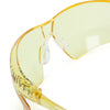 Univet 505 Yellow Lens Safety Glasses Close Up