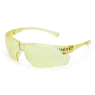 Univet 505 Yellow Lens Safety Glasses