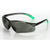 Univet 516 Light Safety Specs Smoke Anti Scratch Lens