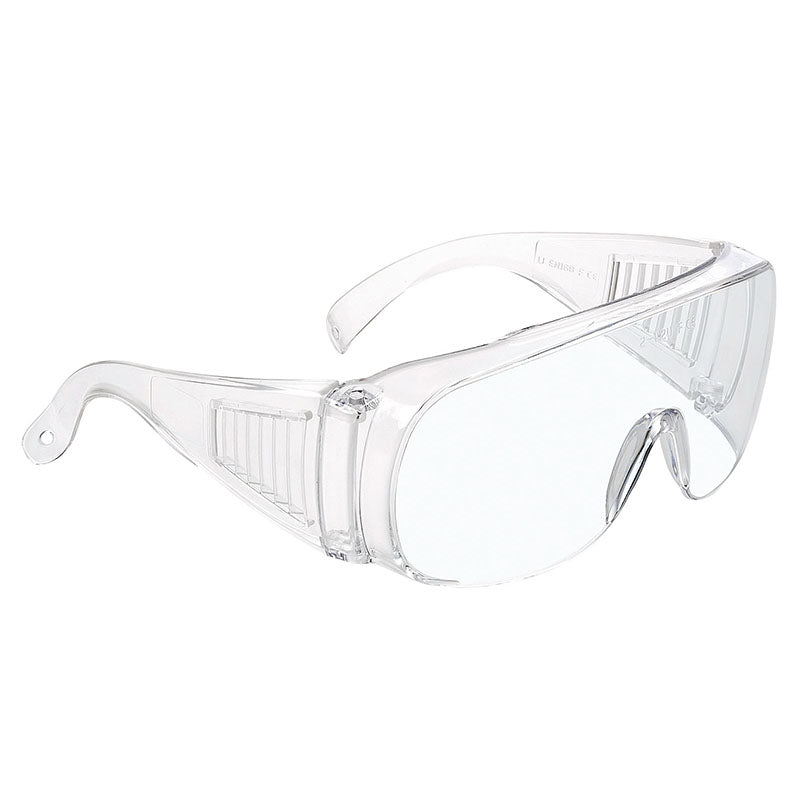 e700feab014 Univet 520 Over Spectacles Safety Glasses Clear Lens