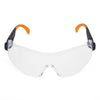 Univet 529 Anti Scratch PLUS+ Safety Glasses Clear Lens