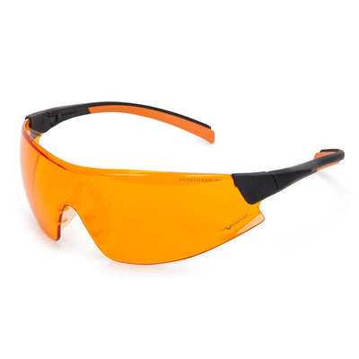 Univet 546 UV525 Protection Anti Fog Specs Orange Lens