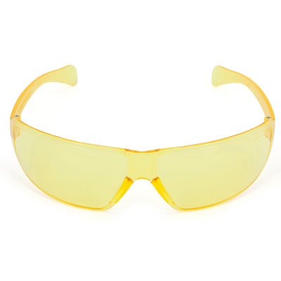 Univet 553Z Zero Noise Safety Glasses Yellow Lens