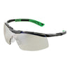 Univet 5X6 Sporty Wraparound Anti Glare Clear Lens Safety Glasses