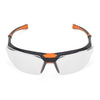 Univet 5X3 High Technology Safety Glasses Clear Lens