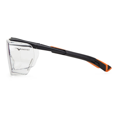 Univet 5X7 Ultimate Italian Safety Over Specs Clear Lens