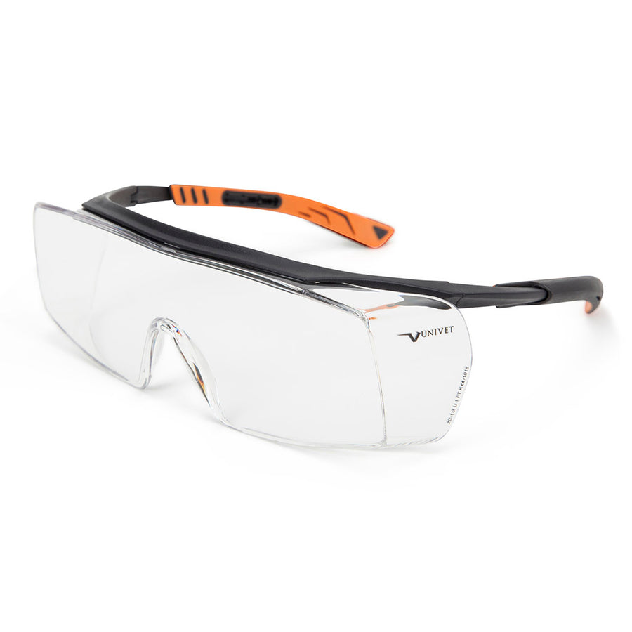 1ec64440069 Univet 5X7 Ultimate Italian Safety Over Specs Clear Lens