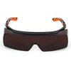 Univet 5X7 Ultimate Over Specs Italian Safety Amber Lens Glasses