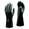 Showa 660ESD Glove BLACK Oil & Chemical Resistant Safety Gloves with Anti-Static