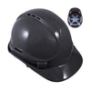 Blackrock 6 Point Safety Hard Hat Black