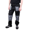 Blackrock Workman Cargo Combat Work Wear Trousers Black / Grey